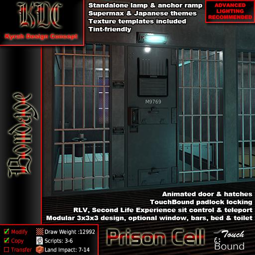 KDC Prison Cell