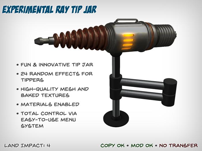 Experimental Ray Tip Jar (Free Version)