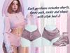 Lunar - Fany Shorts & Socks & Shoes - Dusk