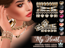 My Heart jewelry - Bracelets & Anklets - White Queen