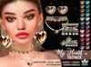 My Heart jewelry Set Collection - White Queen