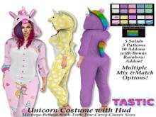 Tastic-Unicorn Costume with Hud