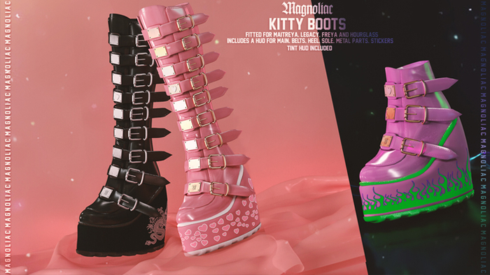 Magnoliac - Kitty Boots (Fatpack)