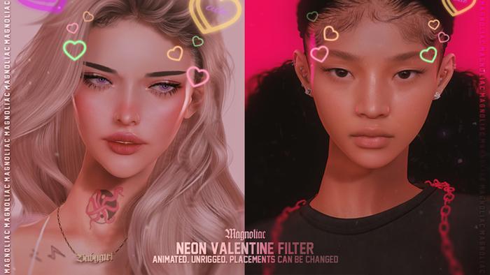 Magnoliac - Neon Valentine Filter