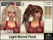 Amacci Hair ~ Suzy - Light Blond Pack