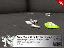 :FNY: Designs - New York City Litter / Decal - 3   100% Mesh Trash