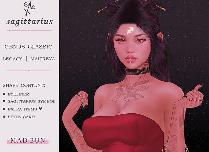 ♐ Sagittarius │ genus classic shape