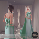 .:FlowerDreams:.Mina Gown - sea green Demo