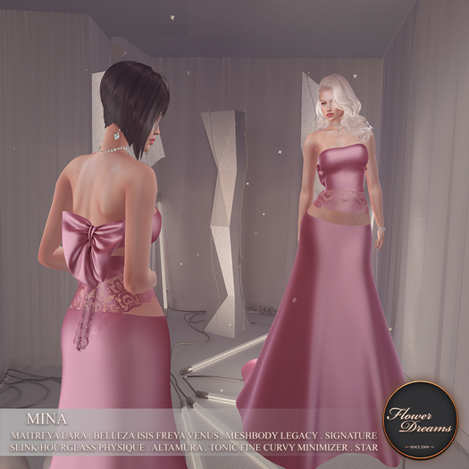 .:FlowerDreams:.Mina Gown - pink