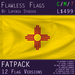 New Mexico, USA Flag (Fatpack, 12 Versions)