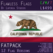 California, USA Flag (Fatpack, 12 Versions)