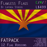 Arizona, USA Flag (Fatpack, 12 Versions)