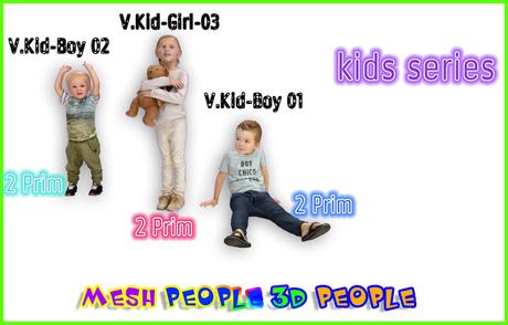 MESH PEOPLE -YO.kids series 01