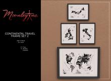 Moonley Inc. - Continental Travel Frame Set 2