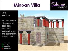 Ancient Minoan Villa / high culture / bronze age