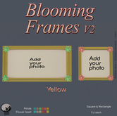 *PC* Blooming Frame V2 Yellow