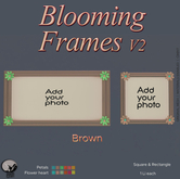 *PC* Blooming Frame V2 Brown
