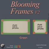 *PC* Blooming Frame V2 Green