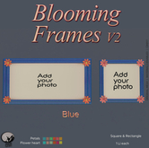 *PC* Blooming Frame V2 Blue