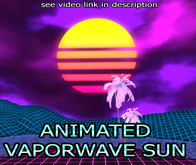 [RoS] Animated Vaporwave Sun