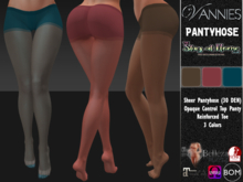 VANNIES Pantyhose Stay At Home (Applier HUD + BoM) Belleza, Legacy, Maitreya, Slink, Omega + Classic Avatar)