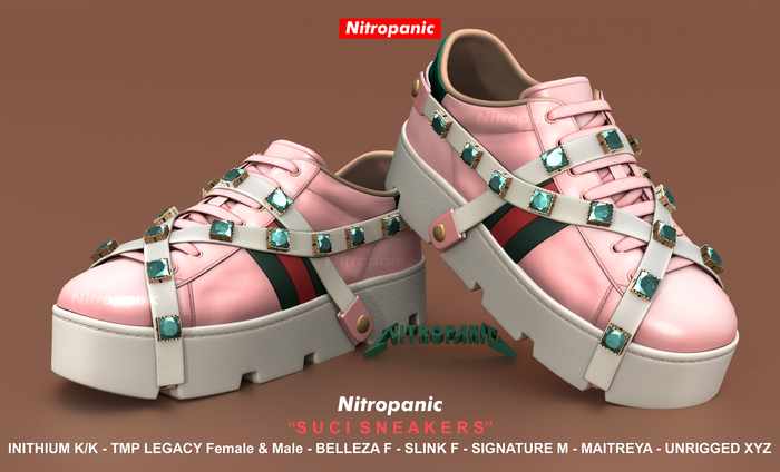 NitroPanic_Suci Sneakers PINK