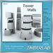 Tower Wall Mesh full perm - ZimberLab Builder's Kit Walls B