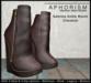 !APHORISM! Sabrina Ankle Boots - Chestnut