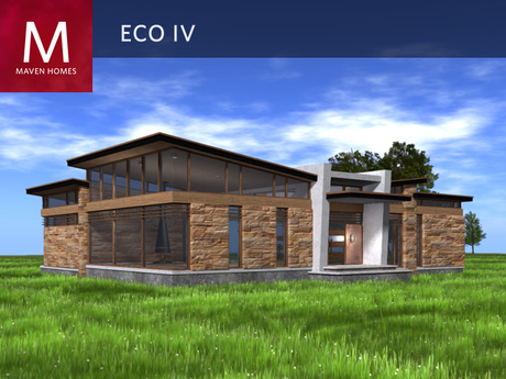 The Eco IV Contemporary Home - Unfurnished