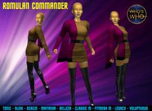 WW Romulan Command Uniform ( female)