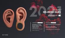 :ANDORE: - MeshEars  - Human edition HD [ BENTO & NON Rig ]