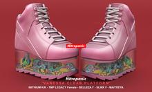NitroPanic_Vanessa Clear Platform Pink
