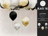hive // single balloons . black tie