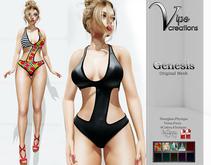 [Vips Creations] - Original Mesh Swimsuit - [Genesis]FITTED