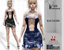 [Vips Creations] - Original Mesh Dress - [Erina]FITTED - Casual Dress