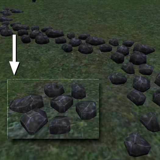 Path Rocks (Mesh)