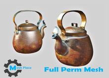 Mesh Place - Copper Coffee Pot - Full Perm Mesh