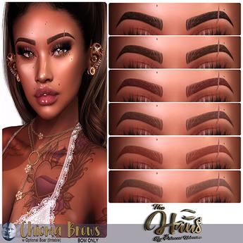.:the-HAUS:. Chioma BOM Eyebrows for Genus