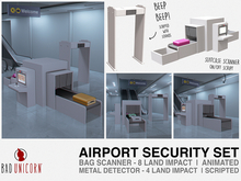 Airport Security Set (Scripted & Animated)