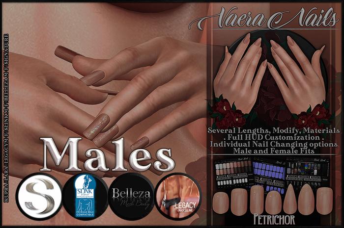 :[P]:- Vaera Nails - Male [Unpacker]