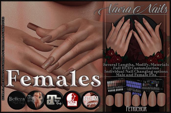 :[P]:- Vaera Nails - Female [Unpacker]