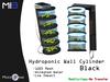 [MB3] Hydroponic Wall Cylinder - Black