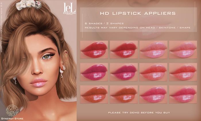 [SYN] Synergy HD Lipstick Pia LELUTKA EVO