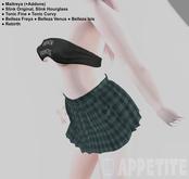 [APPETITE] Pleated Skirt - Green Plaid