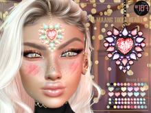 #187# Maang Tikka Heart