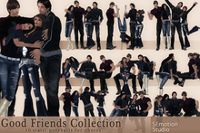 SEmotion Good Friends Collection - 10 static poses for 4!