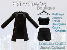 Birdie's Boutique - LouLou Outfit - Black