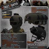 D1-MTG Integrated Ballistic Helmet