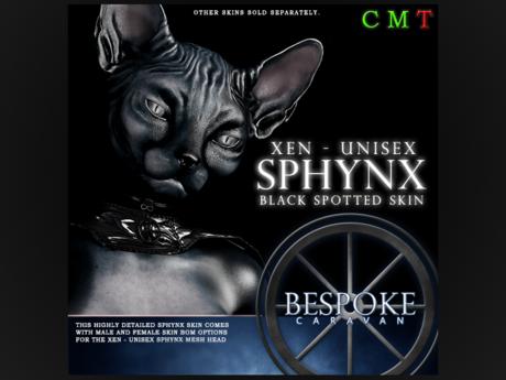 BeSpoke - Sphynx Xen - Skin - Black Spots Unpacker
