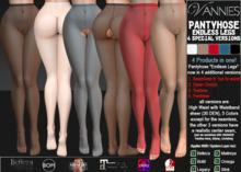 VANNIES  Endless Legs Special Versions (Applier HUD + BoM) Belleza, Legacy, Maitreya, Slink, Omega + Classic Avatar